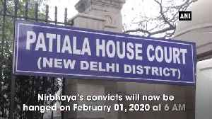 Fresh death warrants issued against Nirbhaya's convicts, hanging now on Feb 01 [Video]