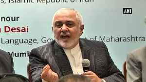 Iran nuclear deal India can encourage US to come back says Iranian Foreign Minister [Video]