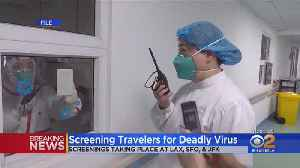 LAX, SFO, JFK To Begin Screening Passengers For New Virus Following Outbreak In China [Video]