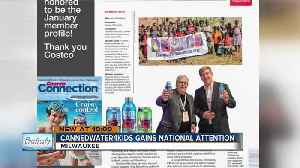 Local charity gets national nod for providing clean drinking water for children in need [Video]