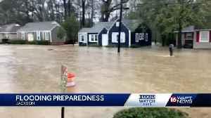 City of Jackson prepares for rain, flooding [Video]