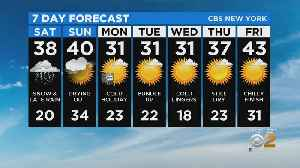 New York Weather: CBS2 1/17 Nightly Forecast at 11PM [Video]