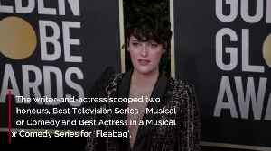 Phoebe Waller-Bridge wanted to book plane tickets for her Golden Globes [Video]