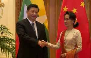 News video: Myanmar, China ink deals to accelerate Belt and Road