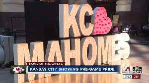 Kansas City lights up ahead of Chiefs game [Video]
