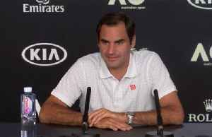 News video: Federer expects tough challenge from Johnson