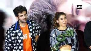 News video: Kartik Aaryan reveals his crush on Sara Ali Khan