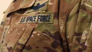 News video: Internet Reacts To Space Force's Peek At Camouflage Uniform