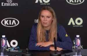 Wozniacki prepares for final tournament [Video]
