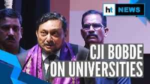 Universities shouldn't function like assembly line production unit: CJI Bobde [Video]