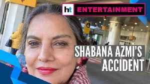 News video: Shabana Azmi injured in car accident on Mumbai-Pune Expressway, wishes pour in
