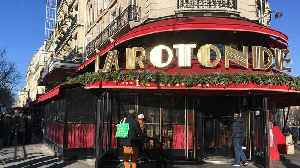 Blaze at Macron-visited Paris restaurant as pension protests continue [Video]