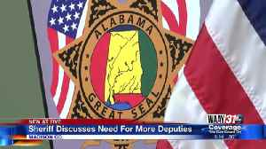 Sheriff Discusses Need For More Deputies [Video]