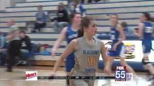 High School Girls Basketball: Blackhawk beats Bethany [Video]