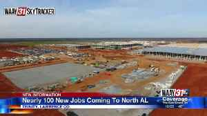 Nearly 100 new jobs coming to North Alabama [Video]
