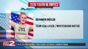 Weiler on experience and preparation at Youth Olympics [Video]
