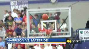 2020 Boys SIAC Tournament: Harrison Tops Mater Dei; Warriors Will Play In Title Game [Video]