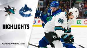 NHL Highlights | Sharks @ Canucks 1/18/20 [Video]
