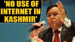 News video: Niti Aayog member VK Saraswat says Kashmiris have no use of internet | OneIndia News
