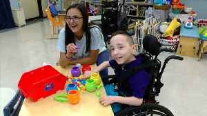 """""""Stand Up Program"""" helps students with disabilities [Video]"""