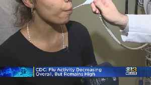 CDC: Flu Activity Decreasing Overall, But Remains High [Video]