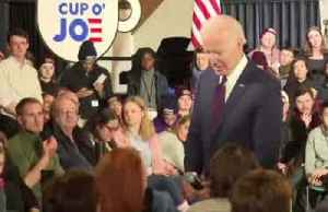 News video: Biden accuses Sanders campaign of releasing 'doctored' video