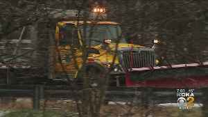 Crews Working To Keep Roads Drivable During Winter Weather [Video]