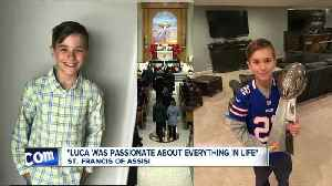 WNY boy who died from complications from the flu, laid to rest [Video]