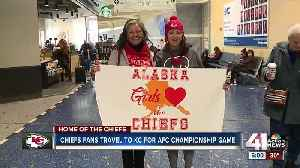 Chiefs fans from across the country flock to Kansas City [Video]