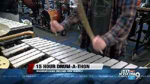Ironwood Ridge HS Indoor Percussion Ensemble performs 15-hour drum-a-thon fundraiser [Video]