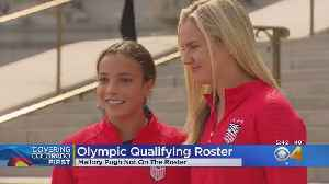 News video: Colorado's Pugh Misses Olympic Qualifying Tournament Roster, Horan Makes Cut