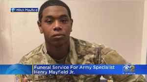Hazel Crest Soldier Laid To Rest [Video]