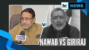 News video: Nawab Malik vs Giriraj Singh on RSS chief's '2 child policy' remark