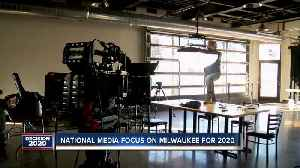 National media organizations focus on Milwaukee in preparation for the DNC [Video]