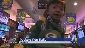 Packers Team, Fans At Pep Rally For Sunday's Game Against The Niners [Video]