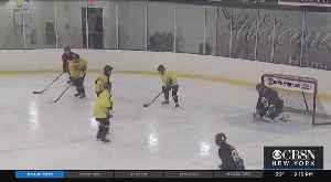 Blind Hockey League Hits The Ice In New Jersey [Video]