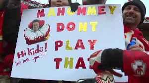 Chiefs fans flock to Kansas City [Video]
