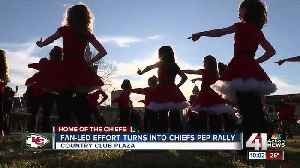 Fan-led effort turns into Chiefs pep rally [Video]