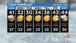 New York Weather: CBS2 1/18 Nightly Forecast at 11PM [Video]