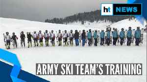 Watch: Indian Army's team train at high altitude ahead of National Ski competition [Video]