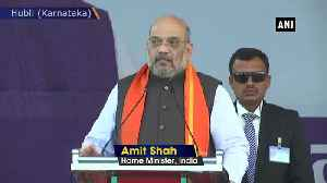 Those opposing CAA are anti Dalits Amit Shah in Hubli [Video]