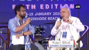 News video: No state can deny implementation of CAA Kapil Sibal