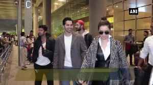 Varun Dhawan, Shraddha Kapoor promote Street Dancer 3 [Video]