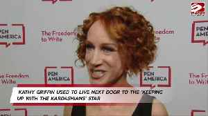 Kathy Griffin hails Kim Kardashian West as 'sweet' neighbour [Video]