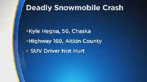 Man, 56, Killed In Snowmobile Crash On Icy Roads In Aitkin County [Video]