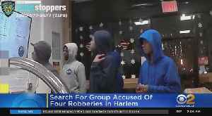 Police: Group Of Suspects Robs 4 People In 1 Hour In Harlem [Video]