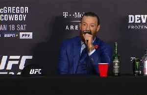 News video: McGregor makes fast work of Cerrone on UFC return