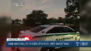 Man shot, killed by deputies after domestic dispute call in Highlands County [Video]