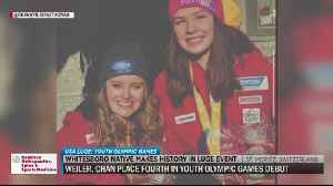 Whitesboro native places fourth in YOG [Video]