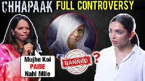 Deepika Padukone Chhapaak BAN, JNU Protest, Laxmi Agarwal | All Controversies [Video]